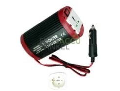 Autolader omvormer voor fietsaccu 12V (200W)