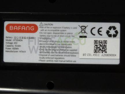 Bafang-fietsaccu-43V-10.4Ah-zwart-8719461001335
