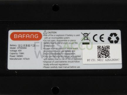 Bafang-fietsaccu-43V-7.8Ah-zwart-87194610013287