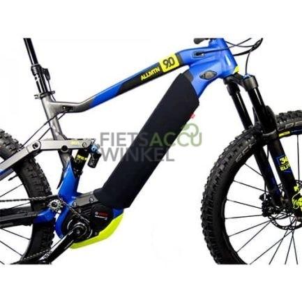 Beschermhoes Accu buis frame op fiets