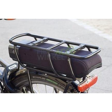 Beschermhoes voor Shimano Steps bagagagedrager accu zijkant