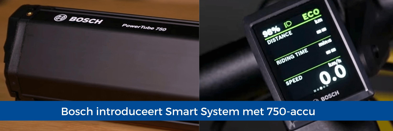 Bosch introduceert Smart System met 750-accu