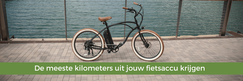 De meeste kilometers uit jouw fietsaccu krijgen