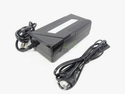 E-Bike-Vision-acculader-WKC4200400-36v-2A-75-05-000221-zwart-overzichtlogo
