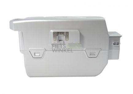 GTE-fietsaccu-Flyer-Panasonic-26V-28Ah-706Wh-zilver-Zij