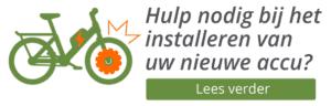 Logo: Hulp nodig bij het installeren van uw nieuwe accu?