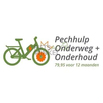 Logo Pechulp Onderweg plus Onderhoud Fietsaccuwinkel en FietsNED