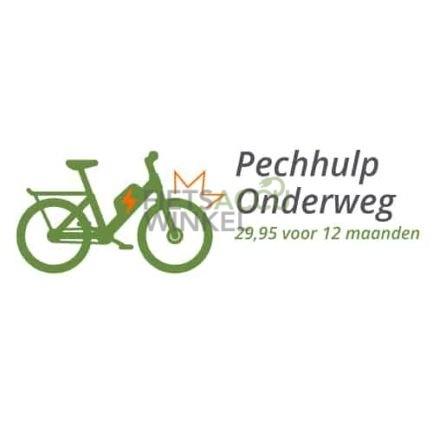 Logo Pechulp Onderweg Fietsaccuwinkel en FietsNED