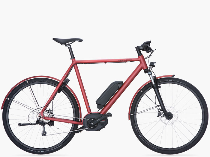 Review Riese & Müller Roadster tourer HS e-bike foto rood