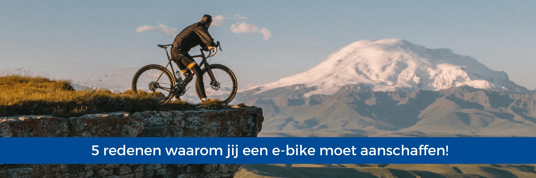 5 redenen waarom jij een e-bike moet aanschaffen!