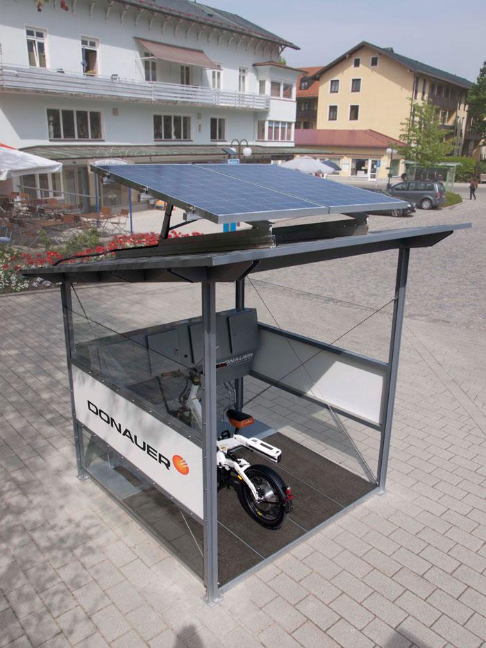 Kleinschalige fietsaccu oplaadstations Donauer